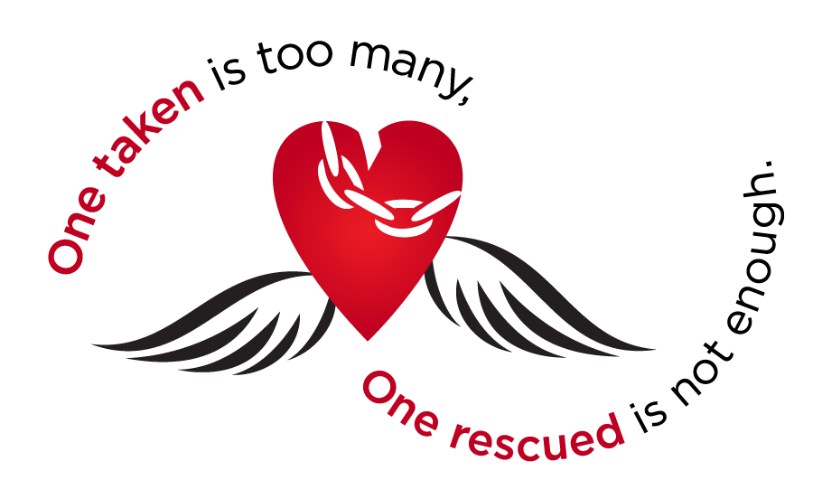 One taken is too many, one rescued is not enough